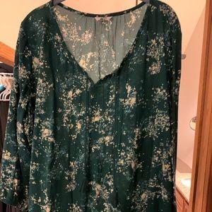XXL Sonoma peasant blouse, 3/4 sleeve, super cute!